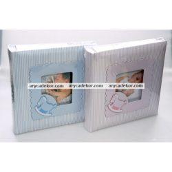 Baby bedugós, melléírhatós fotóalbum 10x15 cm/200 db