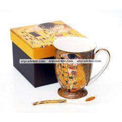 Klimt porcelán bögre díszdobozban.