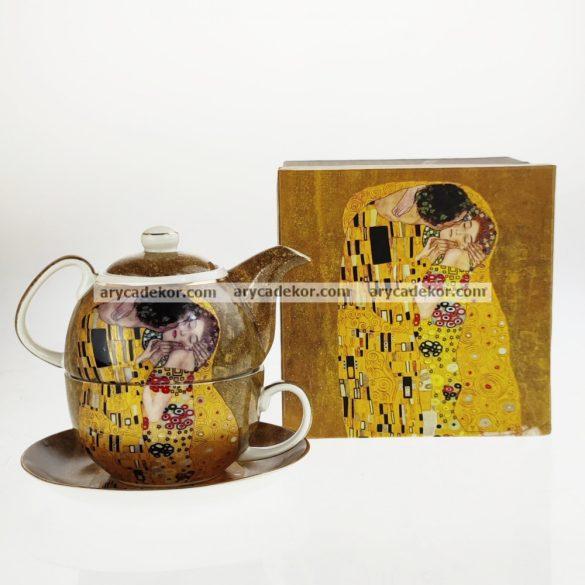 Porcelán teázó szett