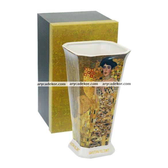 Klimt (adele Bloch) porcelán váza díszdobozban 30,5 cm