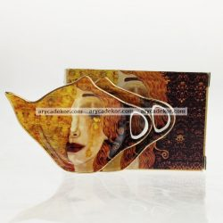 Gustav Klimt porcelán teafilter tartó díszdobozban 2 db/doboz