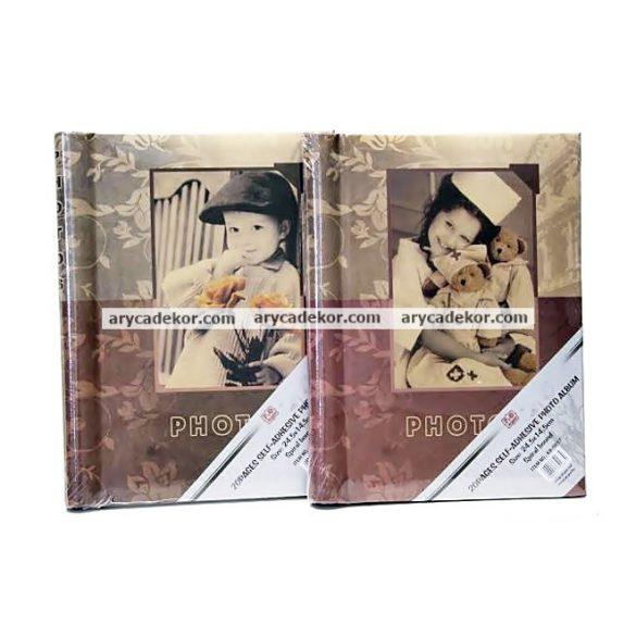 Öntapadós fotóalbum 40 oldal 24,5x14,5 cm