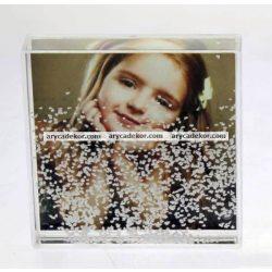 Műanyag fotógömb (Négyzet)