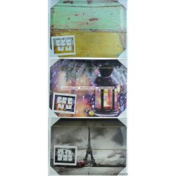 Vászon fali képkeret 30x40 cm