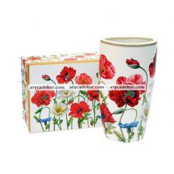 England Collection porcelán váza díszdobozban