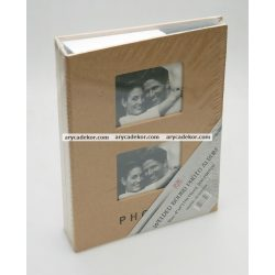 Fotóalbum bedugós ablakkal 10x15 cm/200 db