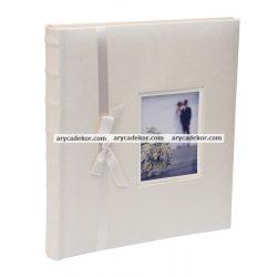 Öntapadós bőrhatású fotóalbum 29x32 cm 60 oldal