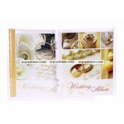 Esküvői öntapadós fotóalbum 22,5x28 cm