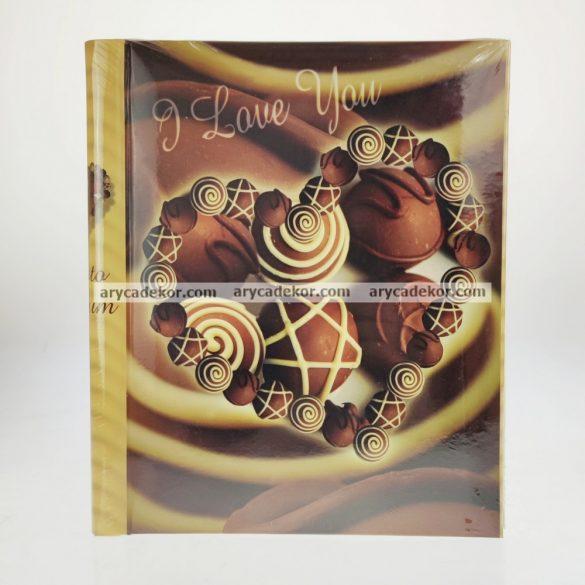 Öntapadós fotóalbum 40 oldal 22,5x28 cm