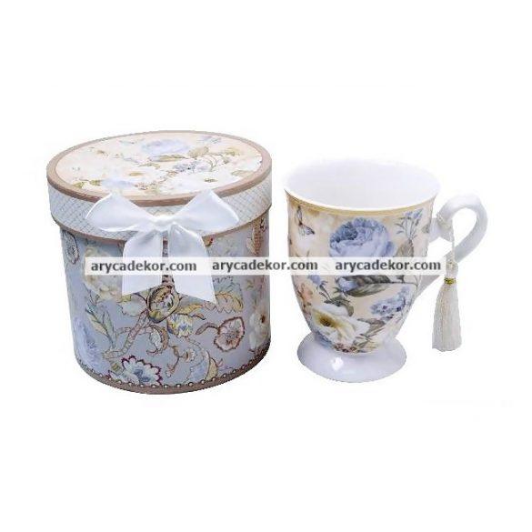 Porcelán teáscsésze díszdobozban
