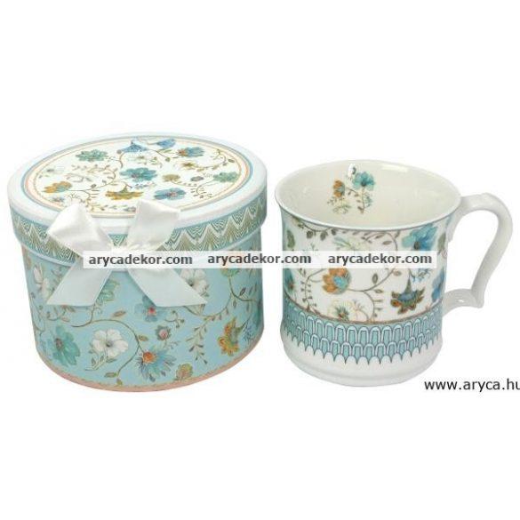 Porcelán teásbögre díszdobozban