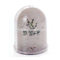 Műanyag nagy fotógömb (havas)