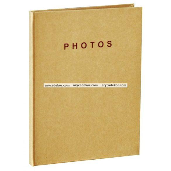 Beragasztos (hagyományos) fotóalbum 21x30 cm 10 lap (20 oldal)